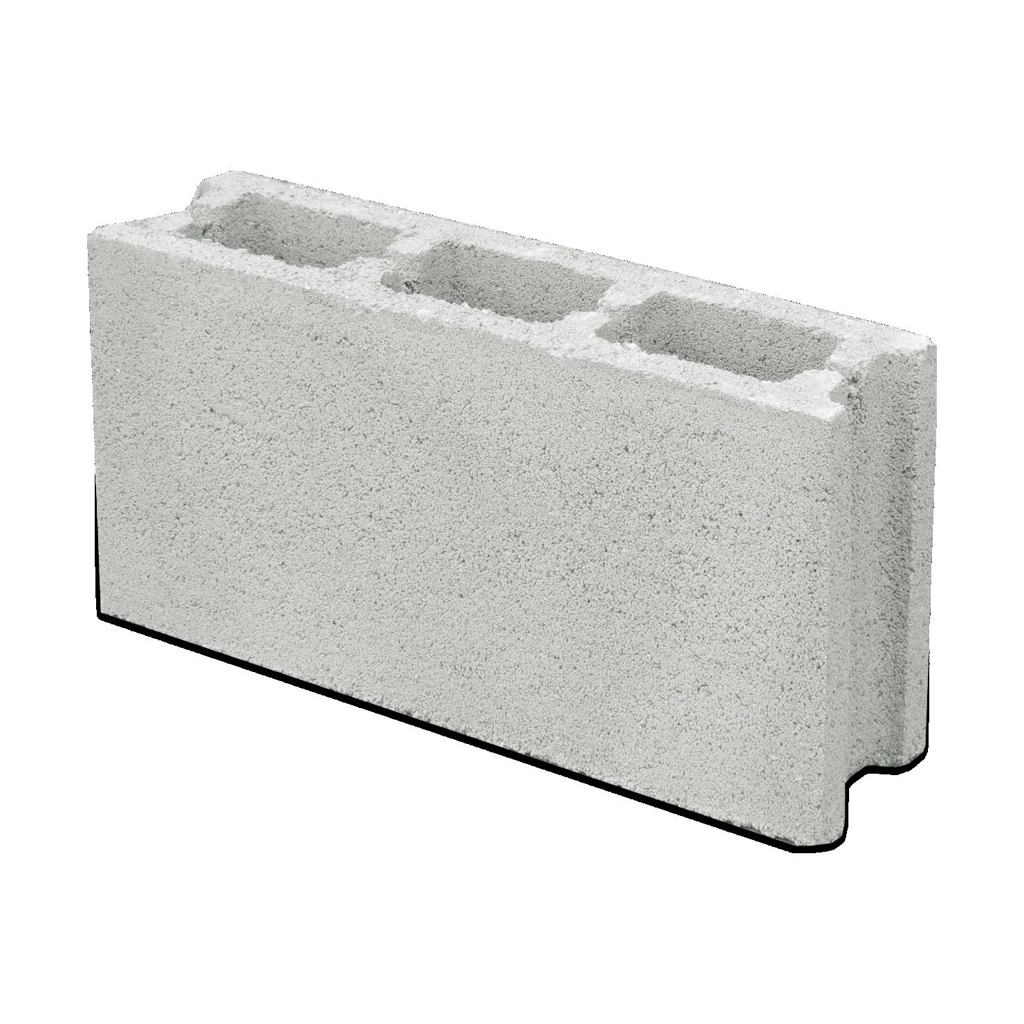Бетонно блокче 10 х 20 х 40 см