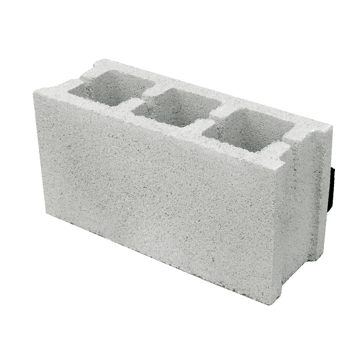 Бетонно блокче 15 х 20 х 40 см