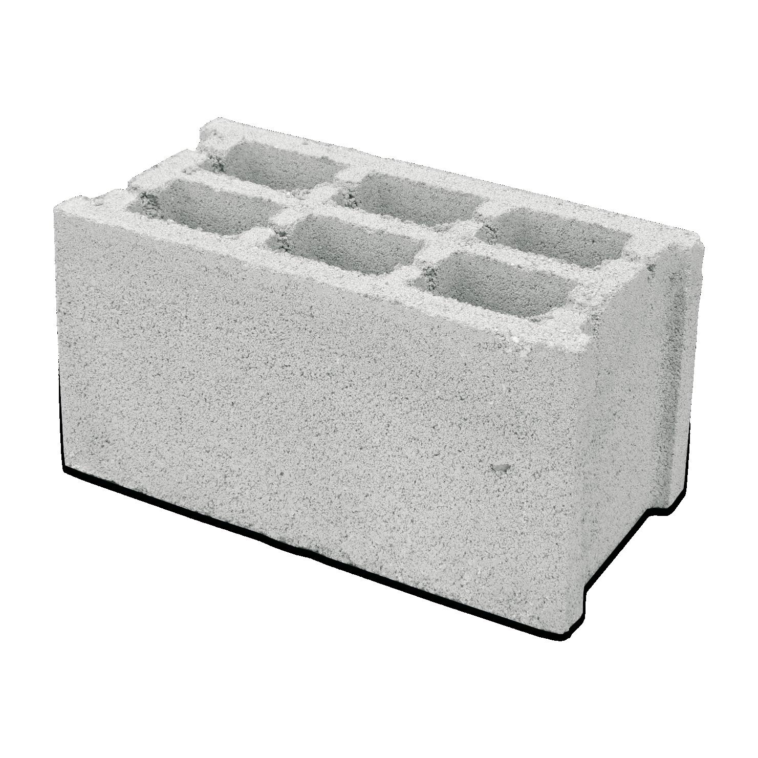 Бетонно блокче 20 х 20 х 40 см